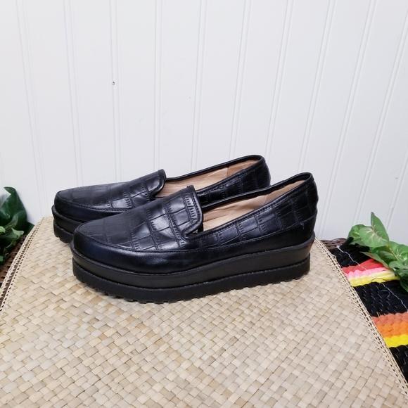 Platform Loafers Vegan Size